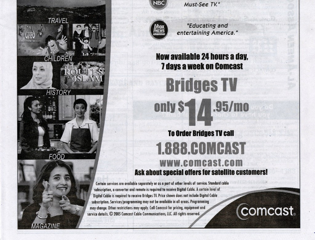 Bridges TV ad