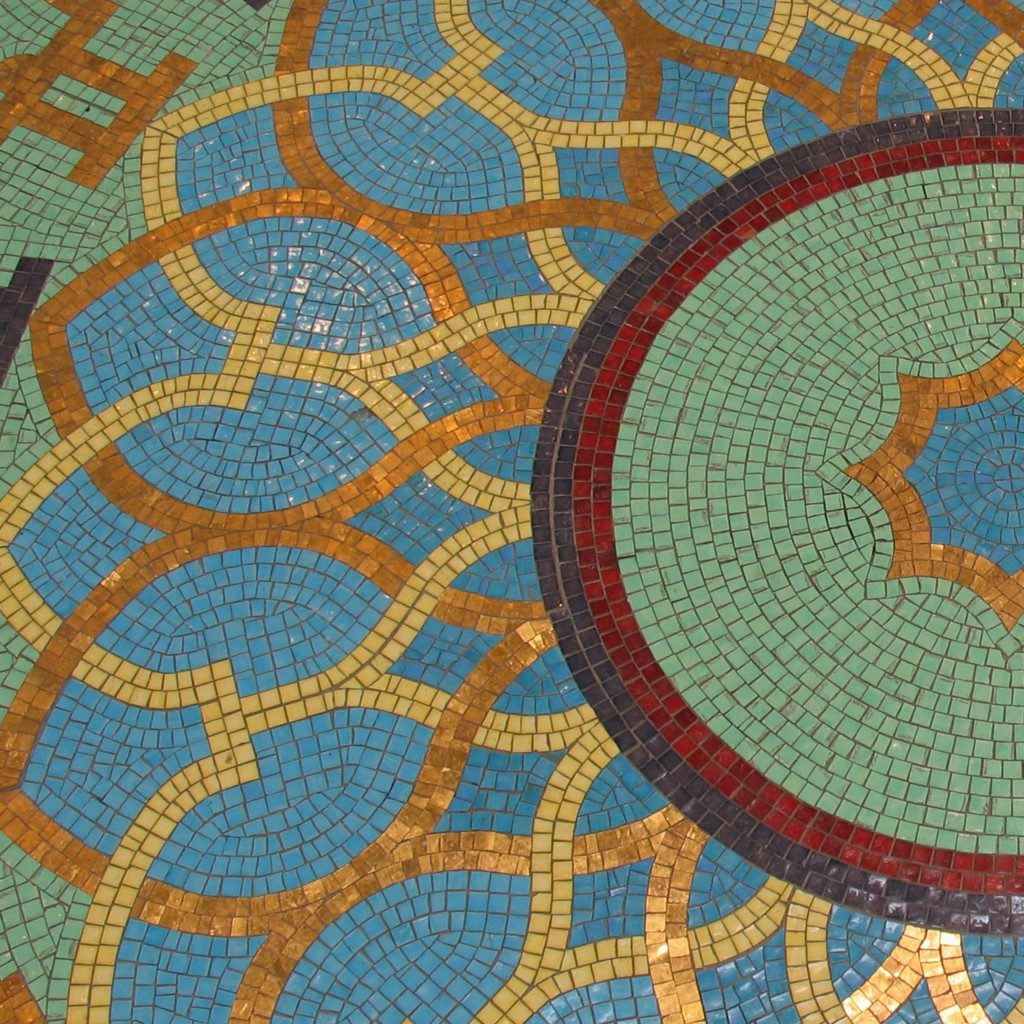 Floor Mosaic, Muslim Unity Center.