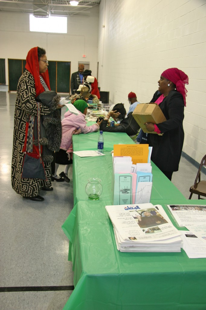 Friday market, Muslim Center of Detroit.