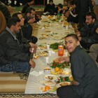 Ramadan breakfast, Karbala Islamic Education Center.
