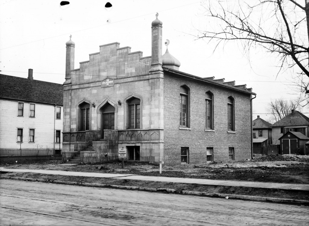 The Highland Park Mosque, circa 1927.