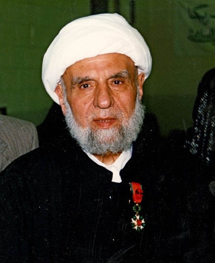 Shaykh Mohamed Jawad Chirri, founder, Islamic Center of America. Courtesy of Hussein Makled.