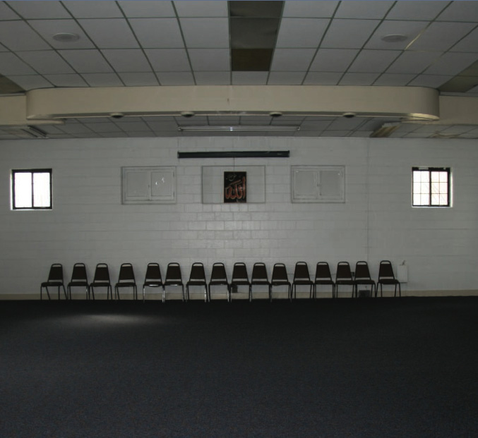 Prayer space, Masjid Wali Muhammad.