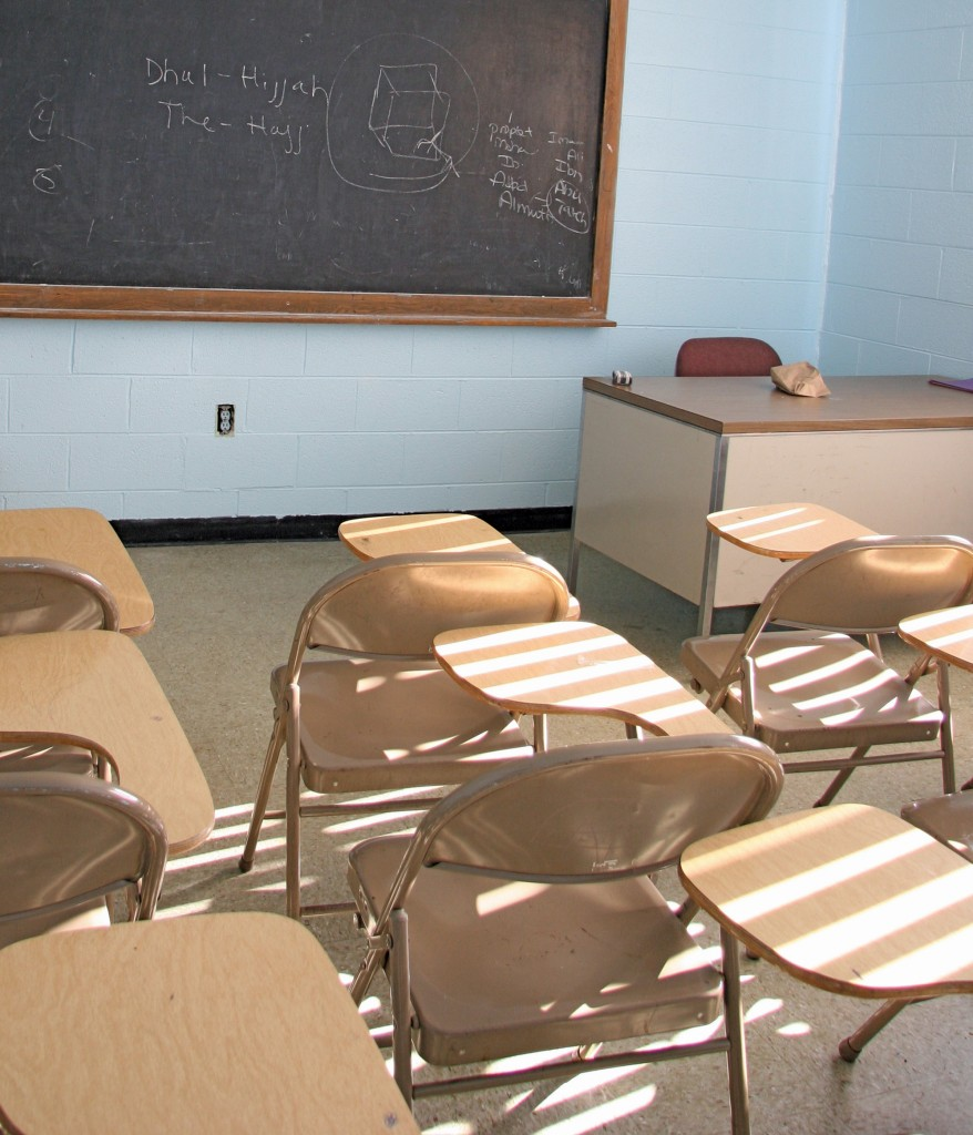 Classroom, Islamic Center of America.