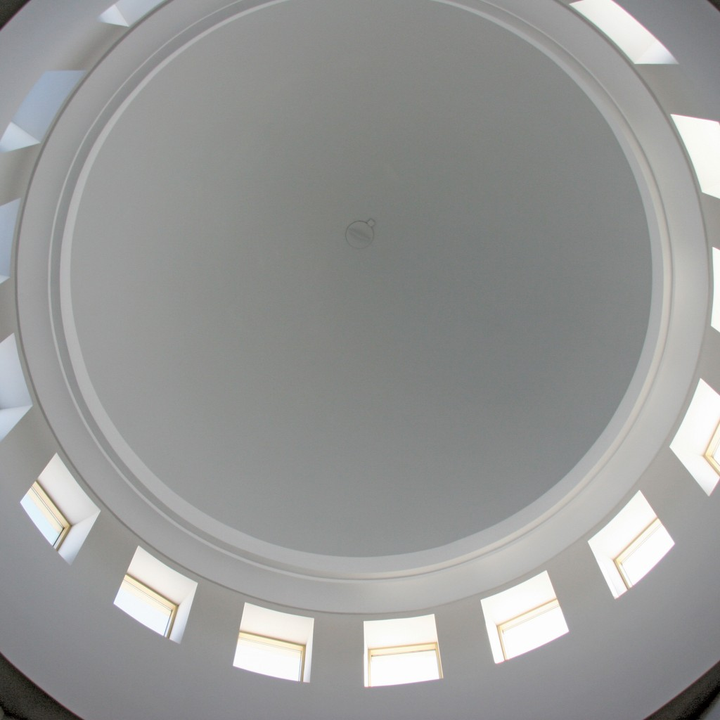 Dome interior, Islamic Center of America.